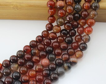 Charm Dream Agate Round Ball Beads----about ---15inch --One Full Strand-NS-005