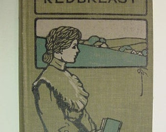 Robin Redbreast Mrs. Molesworth Illustrated Antique Victorian Novel Book Romance