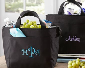 Personalized Lunch Tote | Bridesmaid Gift | Insulated Lunch Bag | FREE Personalization | (e118-1118)