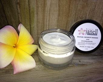 Organic Facial Moisturizer with SPF