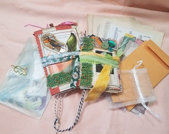 """Mini Junk Journal Bundle , Includes both A-6 and passport sizes, """"Dream"""""""