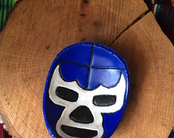 Lucha Libre ring dish Blue Demon