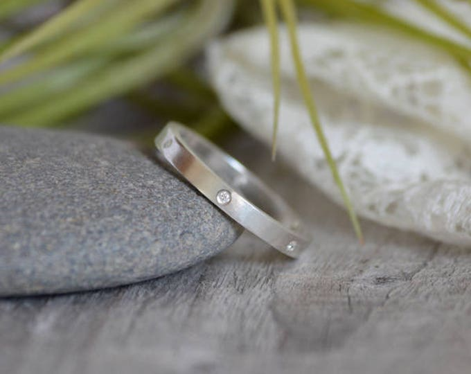Diamond Eternity Ring, Diamond Anniversary Ring, Diamond Wedding Band, Made To Order