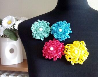 Handmade Crochet Brooch / Brooch Handmade / Crochet Brooch / Coton Brooch / nit Brooch