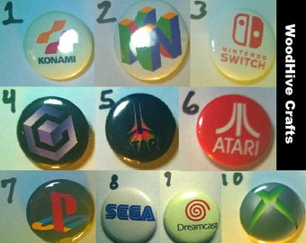 Game Logo Buttons