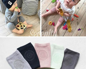 Washable Baby Toddlers Kneepads, Unisec Adjustable Knee Elbow Pads Crawling Newborn Baby Kneepad Knee Protector Kneepads Newborn Kneepads