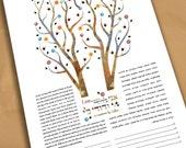 Ketubah - Tree of life In...