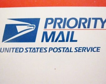 Priority Mail for United States Delivery, Domestic Delivery
