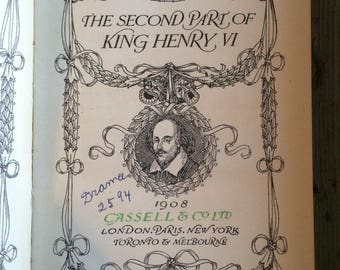 king henry VI-part II by shakespeare 1908