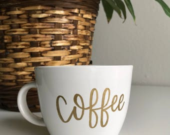 Simplistic Coffee Mug (16 oz)