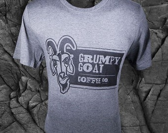 Goat T shirt, Goat Shirt, Grumpy Goat, Grumpy Shirt, Coffee Shirt