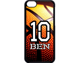 Personalized Number and Name Basketball Case for iPhone 4 4s 5 5s  5C 6 6s 6 Plus 7 7 Plus iPod Touch 4 5 6 case Cover