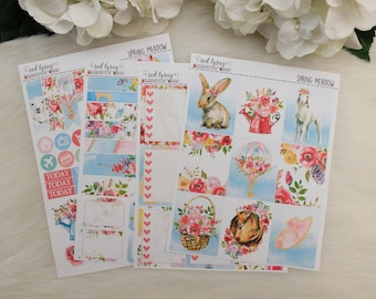 Spring Meadow, Planner Stickers