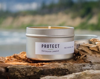 Woodsy Candle ~ Mosquito Repellent ~ Man Candle ~ Insect Repellant ~ Citronella Candle ~ Patio Candle ~ Mosquito Control ~ Outdoor Candle