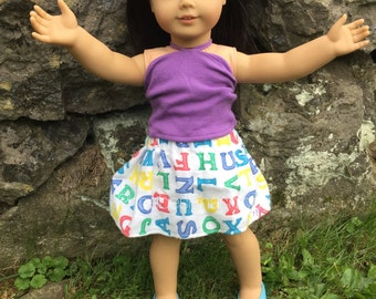 "Printed Skirts | Clothing For 18"" Dolls 