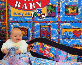 More Quilts For Baby Easy As ABC By Ursula Reikes Vintage Paperback Quilting Pattern Book 1997