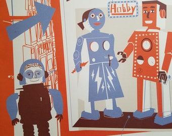 Boss Robot Hobby Poster