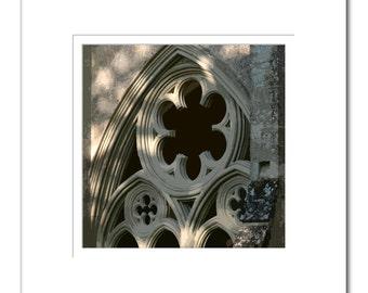 Salisbury Cathederal Window Print
