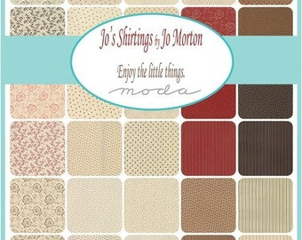 Jo's Shirtings by Jo Morton -  Fat 8ths Bundle