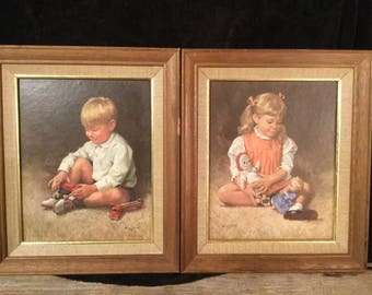 Hufford Boy Print|Hufford Girl Print|Wall Decor|Childrens Room Decor