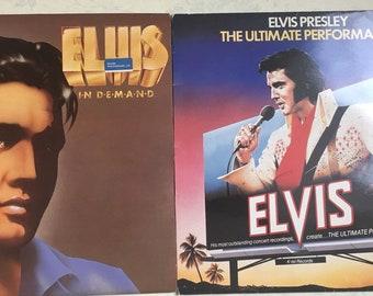 Elvis Presley - 4 Vinyl records