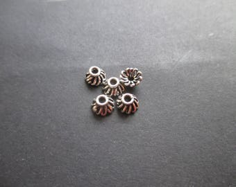 7 mm * 4 mm Sterling Silver 925 * 1 cup