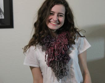 gemstone woolie scarf