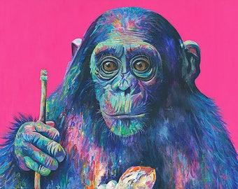 My Rock - Monkey Print