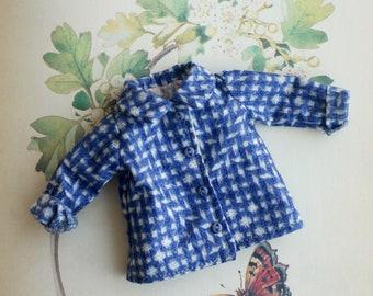 Blue jacket for blythe