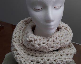 Cozy winter long scarf.