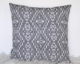 Black & White Cushion Cover, Throw Pillow Cover, Throw Cushion Cover, Cushion Cover