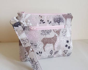 Lori Pouch PDF Sewing Pattern - zip pouch, zippered wristlet,make up pouch, coin purse, clutch sewing pattern, cosmetic bag pattern