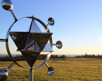 MerKaBa Kinetic Wind Sculpture