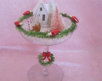 Miniature Christmas Diorama