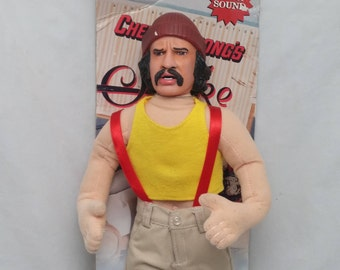 Vintage NECA Talking Pedro Cheech Doll from Cheech and Chong's Up In Smoke - New Batteries, Talking Perfectly, 420, Counterculture