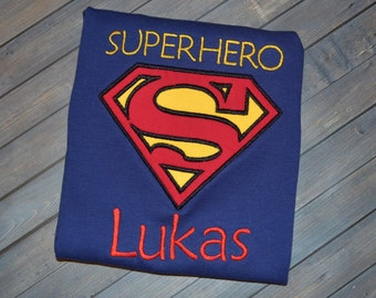 Personalized Superhero Shirt