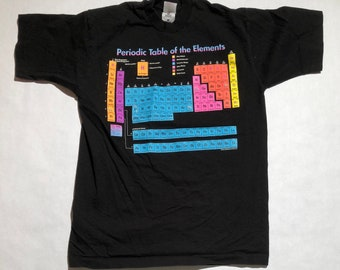 Vintage Periodic Table of Elements T-Shirt