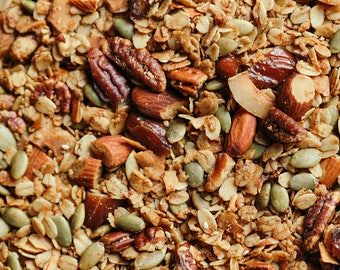 CLASSIC Salty-Sweet Olive Oil Granola (9 12-oz pouches)
