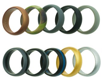 10 Silicone Wedding Rings