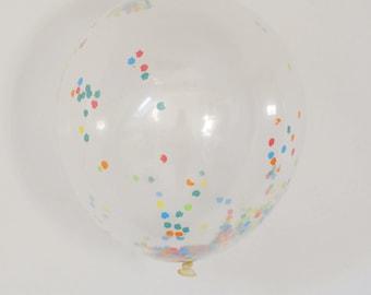 Confetti Balloons | Multi-Color