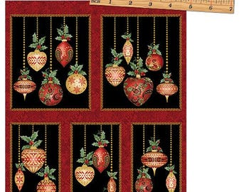 A Festive Season 2641M-12  Panel