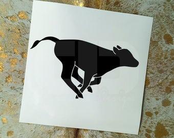 Calf Vinyl Sticker