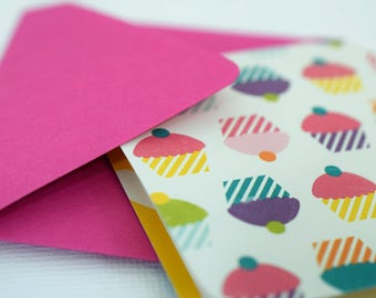 Mini Cards / Blank Cards / Cards with Envelopes / Cupcake Cards / Gift Cards / Gift Tags / Favor Cards / Thank You Cards /  mad4plaid