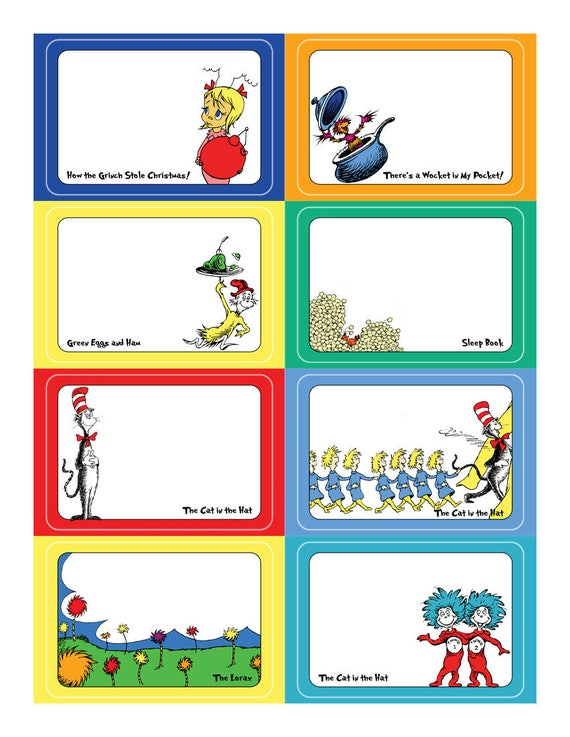 Dr seuss name tag sticker set template for avery name tags dr seuss name tag sticker set template for avery name tags food labels gift tags printable pronofoot35fo Image collections