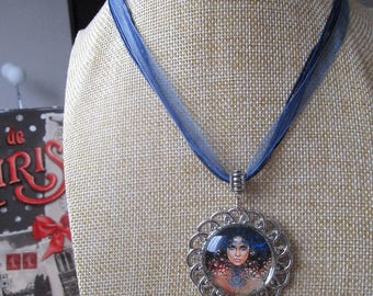 fairy woman necklace