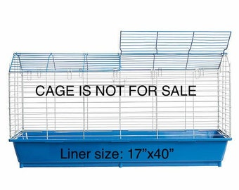 "All Living Things Rabbit Roost Starter Kit Cage Liners (Size 17""x40"")"