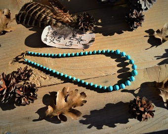 Native American USA natural Turquoise necklace