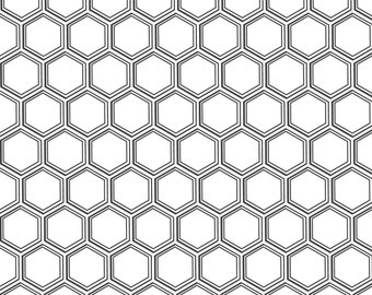 sALe!! Honeycomb Ceramic Decal Transfer, Glass Fusing Decal, Enamel Decal