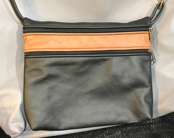 Cross body bag, travel bag, hip bag, Lg. Taylor style, minimalist purse