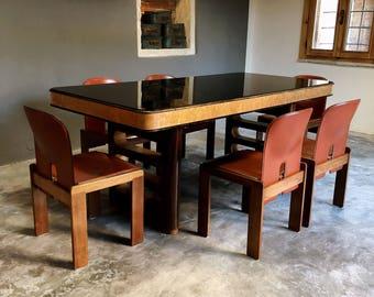 "Dining table ""Osvaldo Borsani"", Italian design, 1958"